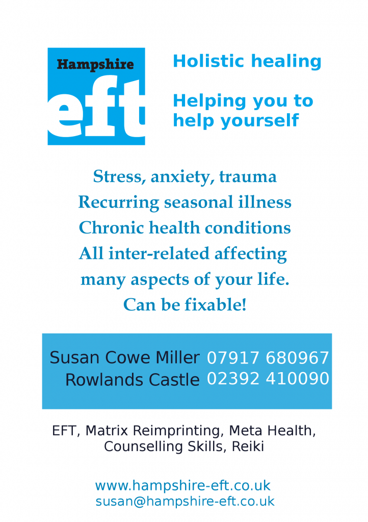 Holistic Healing Archives - Hampshire EFT