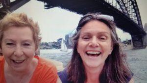 Susan & Claire #WOBSdownunder